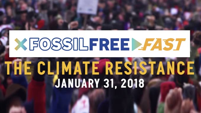 Fossil Free Fast Event