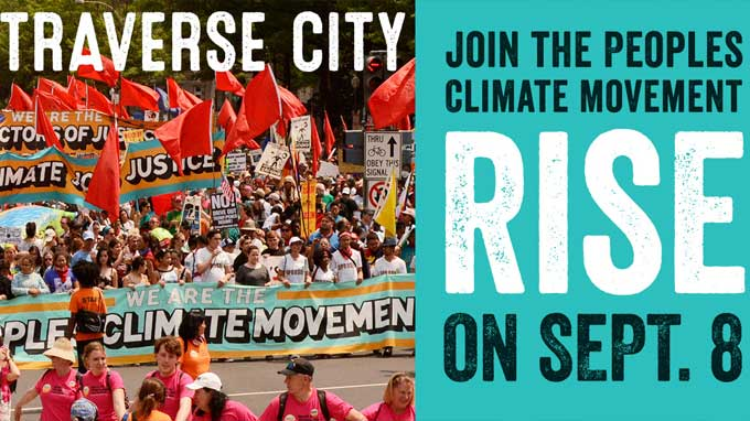 Peoples Climate Movement Rally